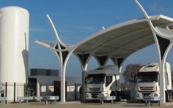 A New Generation of CNG/LNG filling station has been opened in Germany by Rolande