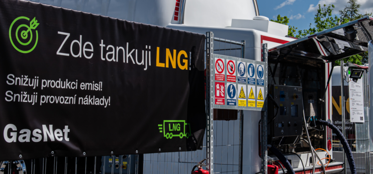 The First Mobile Self-Serve LNG Fueling Unit Has Been Launched by GasNet in the Czech Republic